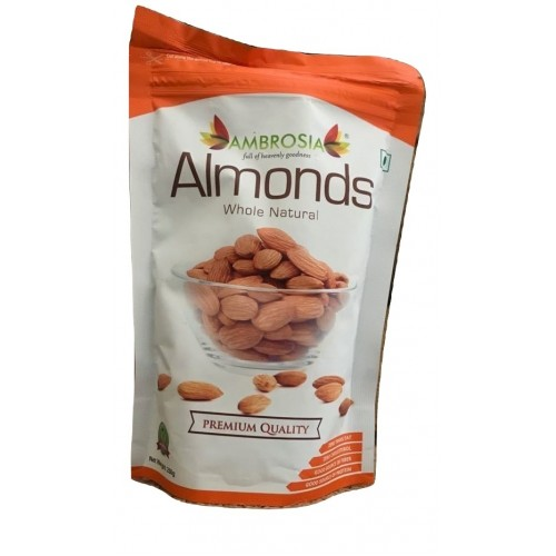 Amborsia Whole Natural Almonds