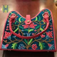 Caribbean Current Kashmiri Embroidered Bag