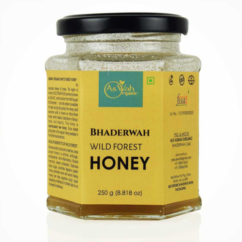 Aswah Organic Bhaderwah Wild Forest Honey | 100 % Natural