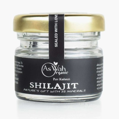 Aswah Organic Pure Kashmiri Shilajit 10gms