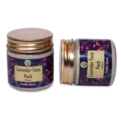 Lavender Face Pack Powder (100 Grams)