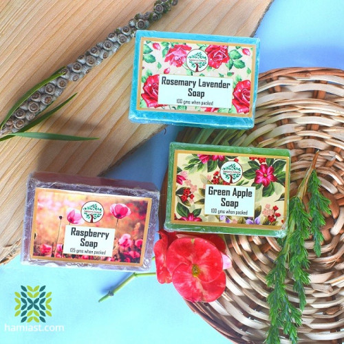 Assorted Natural Handmade Soaps Pack