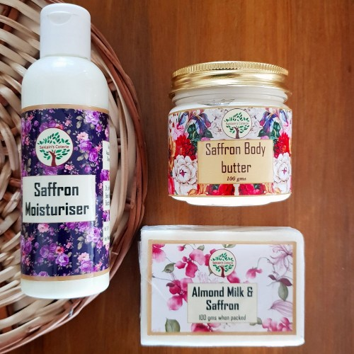 Saffron Skin Care Essentials