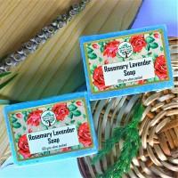 Kashmiri Handmade Rosemary Lavender Soap (Pair)