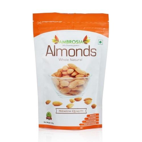 Amborsia Whole Natural Almonds