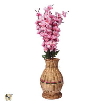 Kashmir Wicker Willow Flower Vase (Pair)  Medium