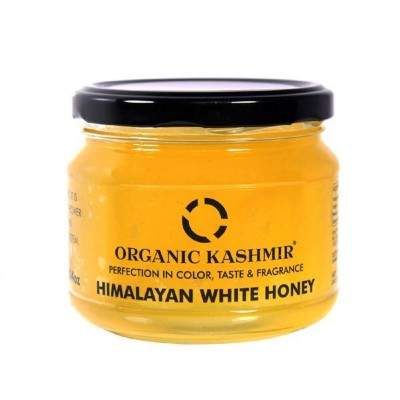 Organic Kashmir Himalayan White Honey (400 gm)
