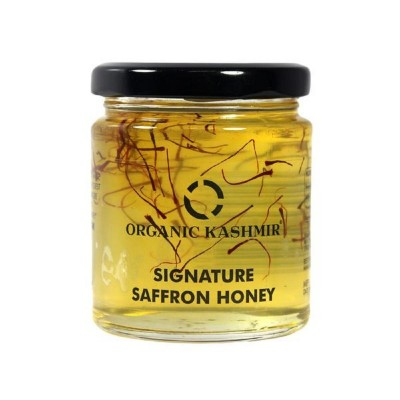 Organic Kashmir Signature Saffron Blended Honey (250 grams)