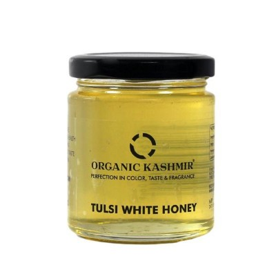 Organic Kashmir Tulsi Infused Honey (250 gm)