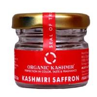 Organic Kashmir Pure Kashmiri Mongra Saffron (1 Gram)