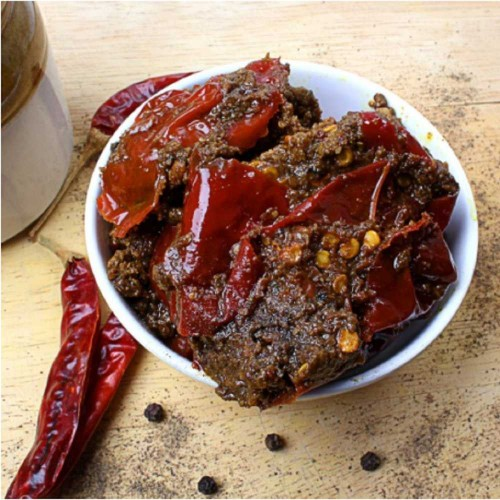 Kashmiri Special Red Chilly Pickle (500g)