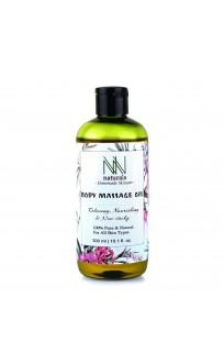 NN Naturals Homemade Non-sticky Body Massage Oil For Deep Nourishment (300ml)