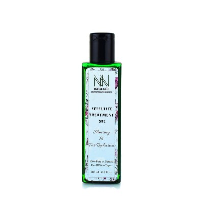 Homemade Cellulite Treatment Oil For Weight Loss by NN Naturals 200ml