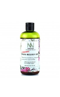Homemade NN Naturals Pain Relief Oil For Joint pain, Muscle pain and Cervical (300ml)