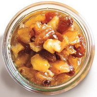 Nimbark Organic Apple Walnut Chutney 220g (Pack of 2)