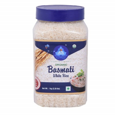 Nimbark Organic White Basmati Rice 1 KG