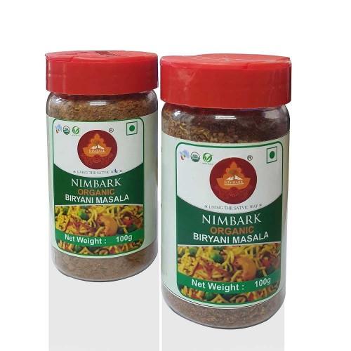 Nimbark Organic Biryani Masala 100g (Pack of 4)