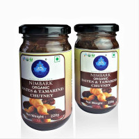 Nimbark Organic Dates & Tamarind Chutney 220g (Pack of 2)