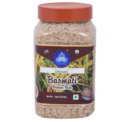 Nimbark Organic Brown Basmati Rice 1 KG