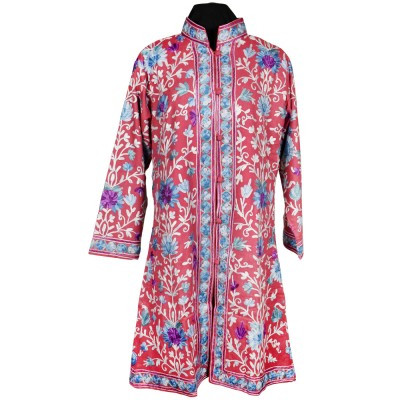 French Rose Floral Ari Embroidered Jacket
