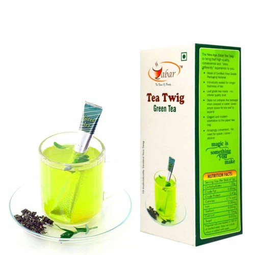 Zabar Tea Twig Green Tea (10 Tea Sticks)