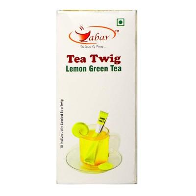 Zabar Tea Twig Lemon Green tea