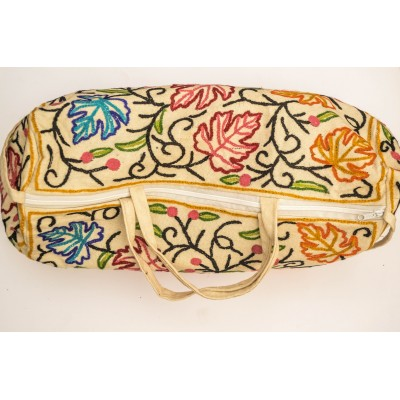 Crewel Multi Colored Duffel Bag