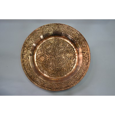 Copper engraved Plate (Set of 6)