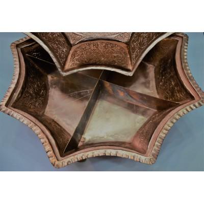 Classic Copper  Dry Fruit Bowl