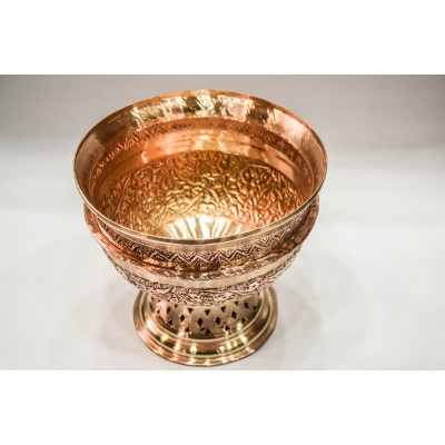 Copper Engraved Small Bowl ( Kenz)