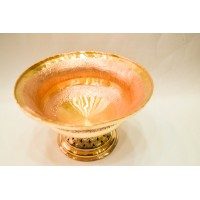 Engraved Copper Bowl (Thaal Baan)
