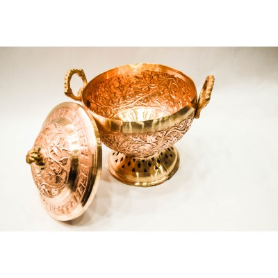 Copper Dish Bowl
