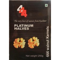 444 Walnut Kernels, Platinum Halves
