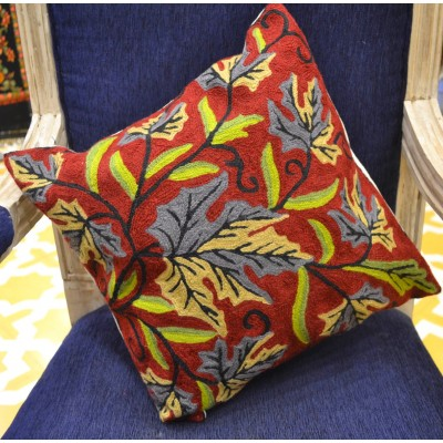 Fawn Chinar  Cushion Cover (Set of 2)