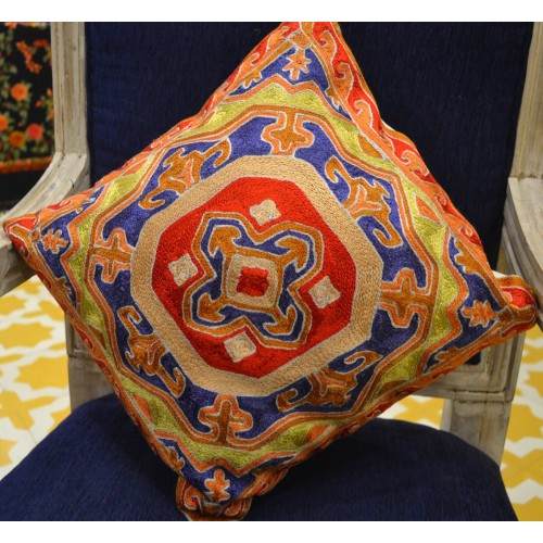 Sheeba Pattern Homemade Cushion (Set of 2)