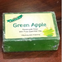 Kashmiri Handmade Green Apple Flavoured Soap (Pair)