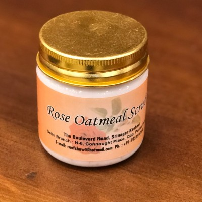 Rose Oatmeal Scrub (100 Grams)
